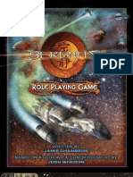 Serenity - Serenity Role Playing Game
