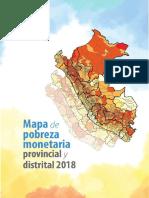 La población de Perú 2018-9