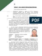 NOTA INFORMATIVA DE SANTAMARIO