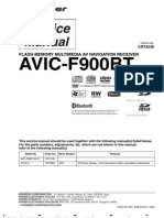 Pioneer Avic-f900bt_xs_cn5 Service Manual (Crt4238)
