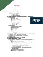 Proyecto Integrador Fase I Diagnóstico situacional modelo de negocio online