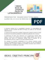 ESTUDIO IBEAS PREVALENCIA DE EFECTOS ADVERSOS EN HOSPITALES DE LATINOAMÉRICA  EDUARDO TICONA RAMOS.pptx