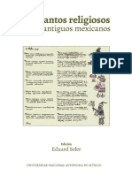 SELER. LOS CANTOS RELIGIOSOS DE LOS ANTIGUOS MEXICANOS.pdf