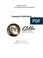 campaña plublicitaria s