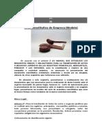acta constitutiva y documento representativo para registrar acta