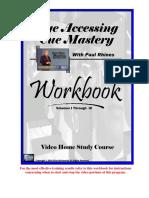 Paul Rhines - Eye Accessing Cues Mastery - Vol. 1 - Vol. 3 - Workbook