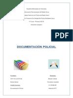 Documentacion policial