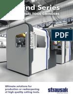 STRAUSAK U-Grind 5 axis cnc tool grinder