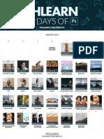 30 Days of Photoshop Calendar