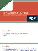Lesson 11 - OSI model