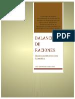 BALANCEO DE RACIONES