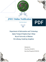 Report Documentation