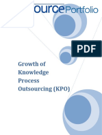 Growth of KPO