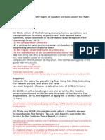 Sales & Service Tax