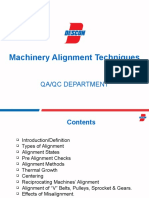 Machinery Alignment Techniques