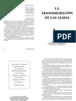 LA TRANSMIGRACIÓN DE LAS ALMAS