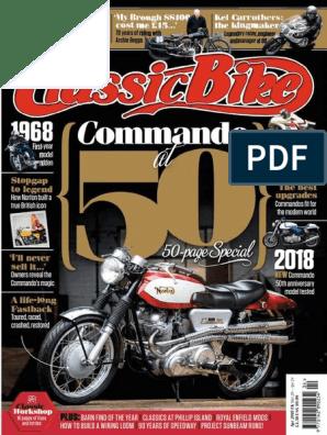 Classic Bike Pdf Motorcycle Harley Davidson