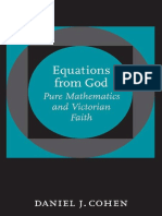 Daniel J. Cohen - Equations From God