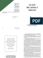 LA LEY DE CAUSA Y EFECTO