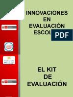IM 11 - Innovaciones en evaluacion escolar.ppt
