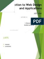 APT1040 lists.pptx