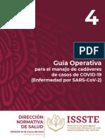 Guia Operativa para el manejo de cadáveres COVID19