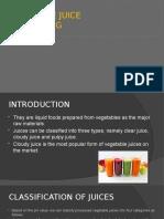 Tomato juice processing