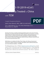 CHEN - ARTIGO - 2020 - How COVID-19 (2019-nCoV) is Currently Treated in China with TCM