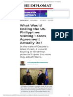 What Would Ending the US-Philippines Visiting Forces Agreement Actually Do_ – The Diplomat.pdf