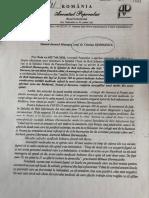 Document Avocatul Poporului