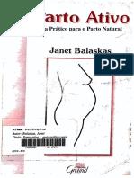 Parto ativo - Janet Balaskas