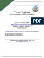 242525766 Travaux Pratiques Microprocesseurs Microcontroleurs PDF