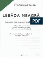 Lebada neagra - Nassim Nicholas Taleb.pdf