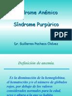 Sindrome Anemico y Purpurico