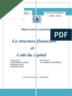 Thème 6 _Structure financière et cout de capital.docx