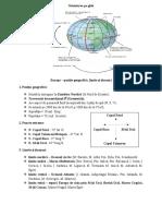 Europa - poziţie geografică, limite şi ţărmuri