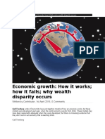 Economic growth - How it works- how it fails- why wealth disparity occurs.docx