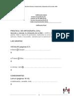 Práctica de ortografía (1)