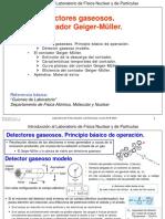 Detectores gaseosos (Geiger sesión 1)