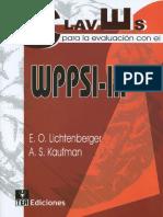 WPPSI III Claves para la evaluacion.pdf