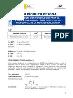 DLEP B 2  Metilisobutilcetona  Año 2018