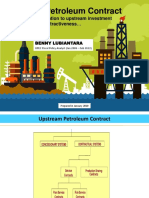 Upstream Petroleum Contract and Fiscal Attractiveness