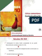 Lírica Camoniana - Contextualização Histórico-literária