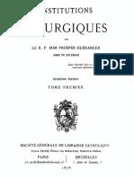 Dom Prosper Gueranger - Institutions liturgiques (tome 1).pdf