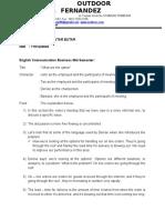 OUTDOOR Fernandez English Communication Mid semester.docx