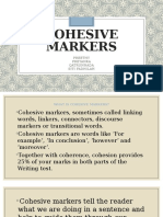Cohesive markers (1)