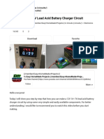 How to Make a 12V Lead Acid Battery Charger Circuit _ 6 Steps - Instructables