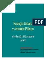 1 Ecología Urbana y Arbolado Público