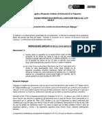 Formulario de Preguntas y Respuestas Informe de Evaluación