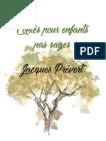 Contes pour enfants pas sages Jacques Prévert